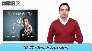 How To Sell Eco-Friendly Promotional Products - Counselor How-To Minute