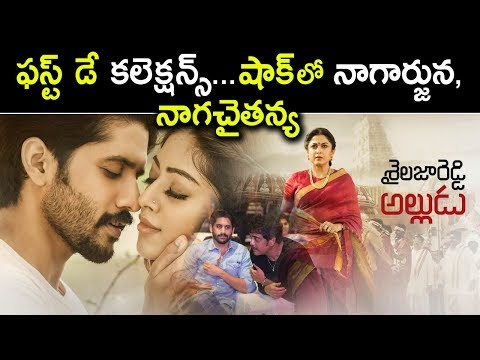 Sailaja Reddy Alludu Movie First Day Box Office Collections | Naga Chaitanya | Tollywood Nagar