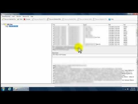 Email Recovery Software: Repair Corrupt DBX File