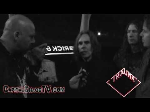 TRAUMA (Cliff Burton's former band interview) on CAPITALCHAOSTV.COM