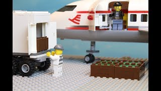 Lego Invisible Plane Robbery The Airport