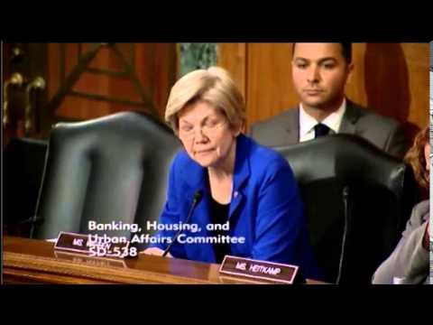 Elizabeth Warren - the Strategic Necessity of Iran Sanctions
