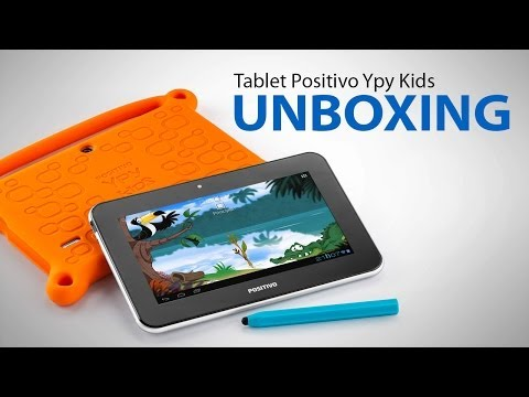 Positivo Ypy Kids - Unboxing