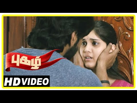Pugazh Tamil Movie | Scenes | Vikram Supports Minister | Marimuthu Warns Jai | Surabhi