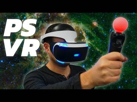 PlayStation VR Is HERE!