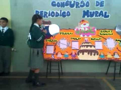 Santa rosa de las am ricas santa ana los olivos for Editorial periodico mural