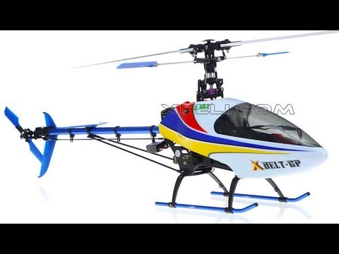 New Brushless Esky Belt CPX 3D RC Helicopter Review