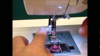 How to use the Automatic Needle Threader on a Singer Confidence Sewing Machine