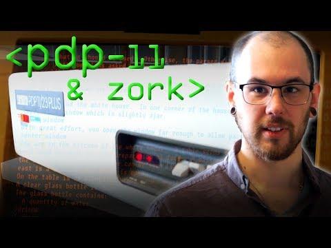 DEC PDP-11 & Zork - Computerphile