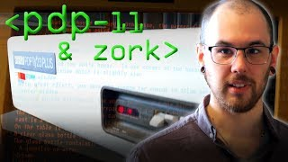 DEC PDP-11 & Zork - Computerphile