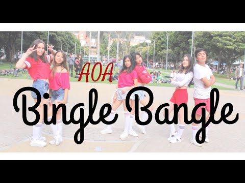[K-POP IN PUBLIC COLOMBIA] AOA_ Bingle Bangle (빙글뱅글)_ Dance Cover_Aeternum Dance Crew