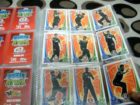Cricket Attax Cards 2012 Cricket Attax 2012 The