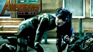 NEW Avengers Infinity War CLIP! Proxima Midnight and Corvus Glaive FIGHT SCENE - SPOILERS