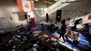 Kanada Suriyeli Mültecileri Kabul Etmeye Başladı