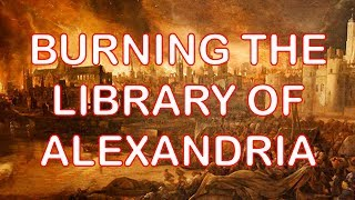 Video: In 48 BC, Roman Emperor, Julius Caeser destroyed 700,000 texts by burning the Library of Alexandria, Egypt