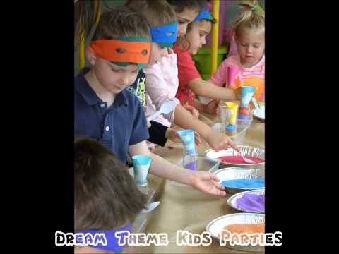 Teenage Mutant Ninja Turtles kids party!!  ~~ Dream Theme Kid's Parties