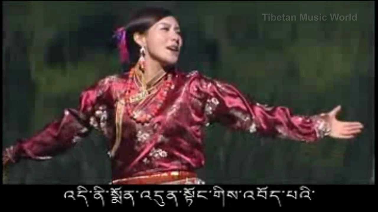 Tibetan song 2012 - Winter fairy Lake by Tsewang Lhamo ...