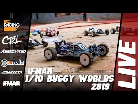 IFMAR 1/10th Electric 2WD Off Road Worlds - Monday Qualifying