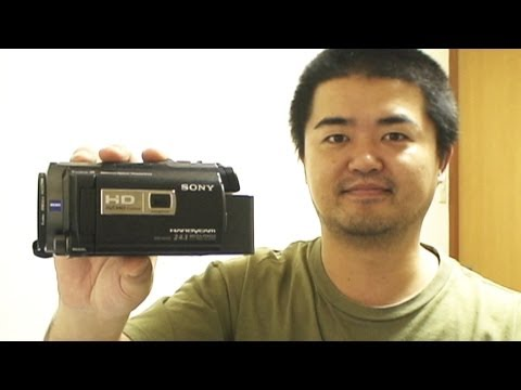 SONY Handycam HDR-PJ760V Camcorder Floating-Lens Stabilization and Projector