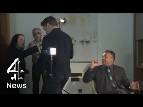 Robert Downey Jr walks out of interview when asked questions about past