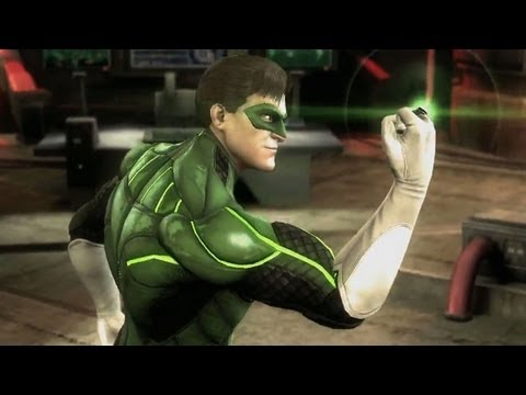 Injustice: Gods Among Us - Green Lantern vs. Solomon Grundy