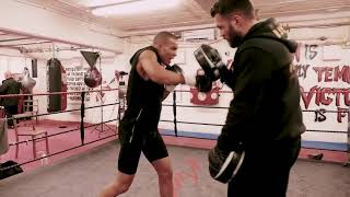 EXCLUSIVE  Inside Chris Eubank Jr TRAINING CAMP   FULL INTENSE WORKOUT SESSION