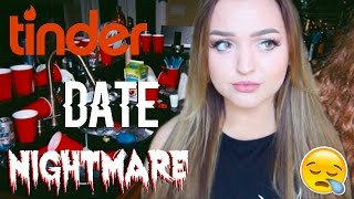ASSAULTED BY MY TINDER DATE (ACTUAL WORST DATE EVER) | STORY TIME