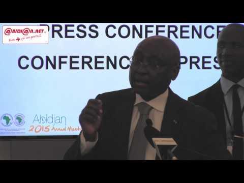 Assemblées annuelles de la BAD: Conférence de presse de Donald Kaberuka, president de l'institution