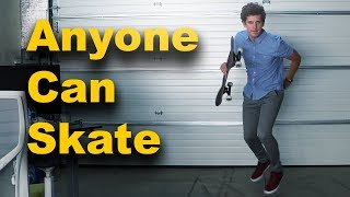 I Learned How To Skateboard... IN 1 WEEK!!!
