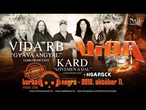 Vida Rock Band - Száguldás (szöveges / Lyrics Video)