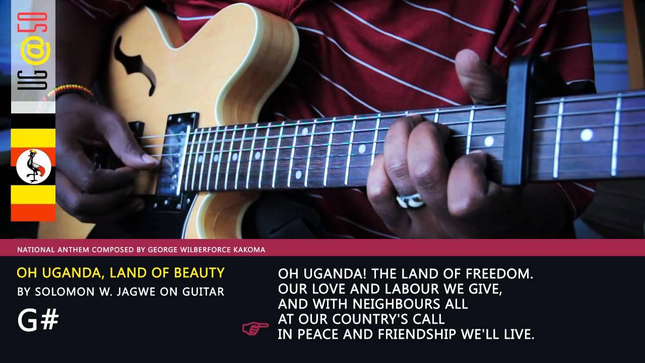 Uganda national anthem lyrics