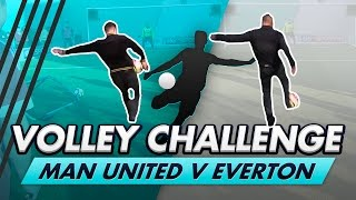 Volley Challenge LIVE | Man United vs Everton fans, ft. Olly Murs & Leon Osman