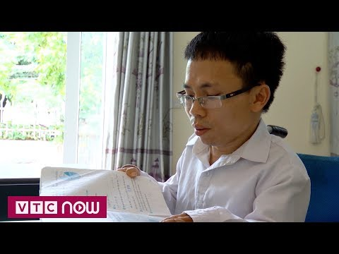 Người thầy khuyết tật cõng chữ về làng | VTC9 | thay giao