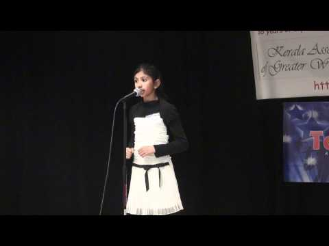 Talent Time 2011- Poetry Recitation English Cat 1 video