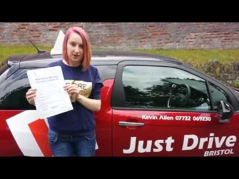Driving Lessons Bristol. Driving Test Success for Nicole