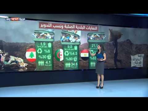 86 مليون طن إنتاج العرب للمخلفات الصلبة