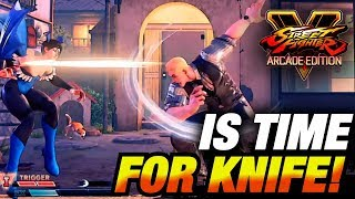SFV AE * Knife Whiff Punishes, Comebacks & More / Cody Highlights