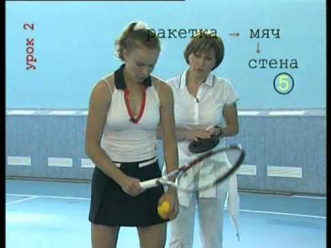 Уроки тенниса - видео