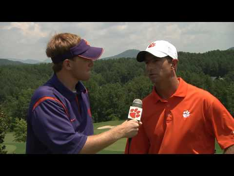 Clemsontigers.com 1 on 1 Dabo Swinney Interview at Annual Golf Outing
