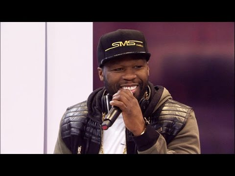 50 Cent makes his annual trip to the CNET stage