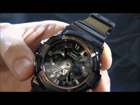 Casio G-Shock GA200RG-1A Watch Review