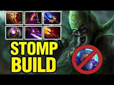 AM NERFED - STOMP BUILD - Draskyl Plays Necrophos - Dota 2