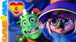 🎃 Musica Infantil | Canciónes de Halloween y Canciones Infantiles | Dave y Ava 👻