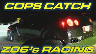 Corvettes RUN from Cops and get CAUGHT!