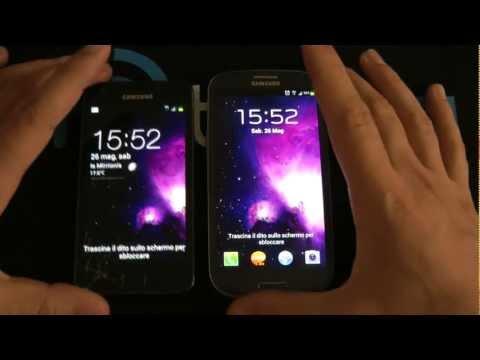 Galaxy S3 vs Galaxy S2 video comparativa by HDblog