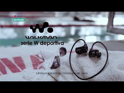 Sony Walkman NWZW273   Reproductor MP3 acuático en auriculares   Video promocional