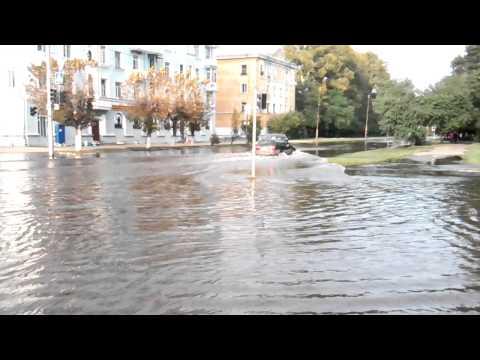 потоп на комсомольске для амуре 2013 видео