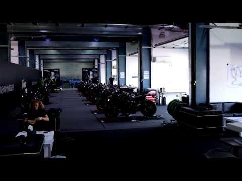Kawasaki Ninja H2 Test Katar - Ninja Warm Up