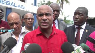 VIDEO - Haiti PM Laurent Lamothe revizite Mirebalais pou fet Saint-Louis