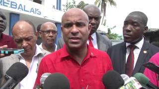 VIDEO - Haiti PM Laurent Lamothe revizite Mirebalais pou fet Saint-Louis